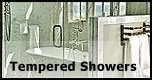 Tempered Frameless Glass Showers